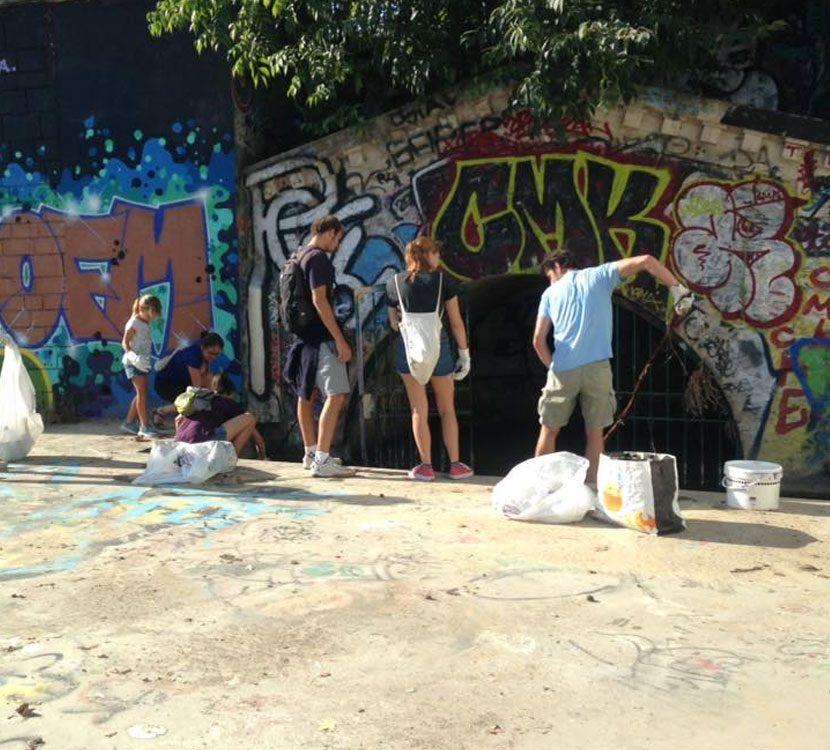 Coworking Montpellier Square Cocoon Nettoyons la Planète Ensemble